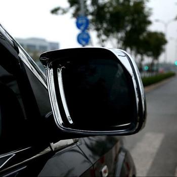 ABS Chrome untuk Dodge Journey Fiat Freemont 2013/14/15/16 Mobil Styling Kaca Cermin Matahari Hujan guard Perisai Cover Trim Accessorie
