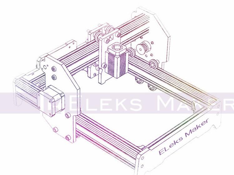 US $499 99 |5500mW Laser Power, DIY Mini Laser Engraving Machine, 15*20cm  Engraving Area ,Mini Marking Machine, Advanced Toys , Best Gift-in Wood