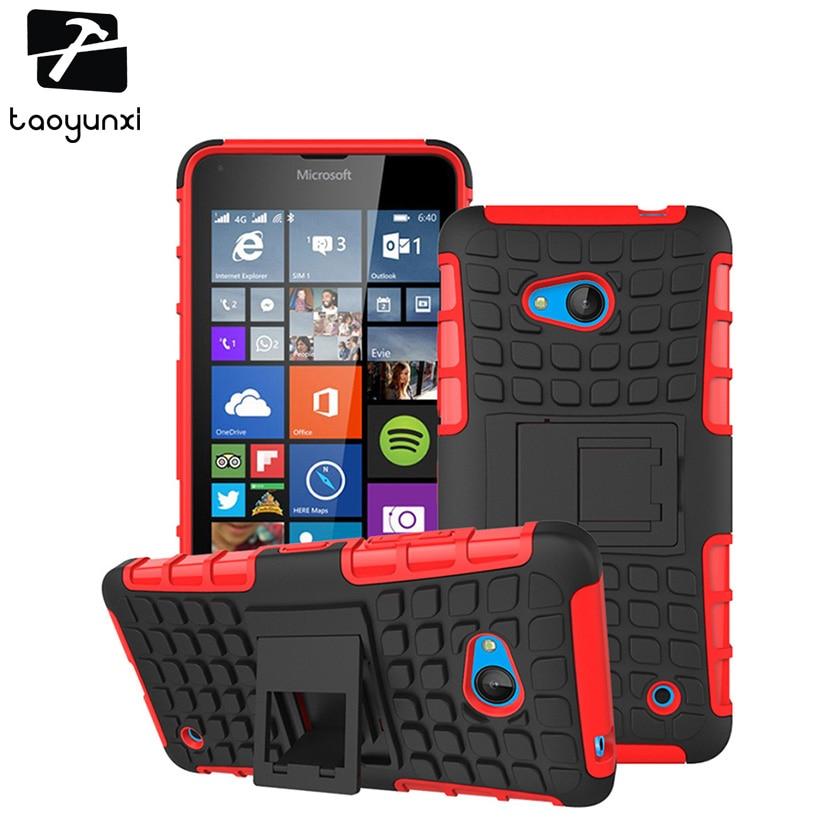 Military Armor Kickstand Case Cover For Microsoft Nokia Lumia 640 N640 n 640 5.0'' MICROSOFT 640 DUAL SIM Case 2 in 1 Hybrid