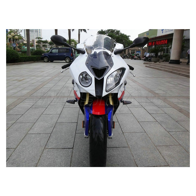 Motorcycle Windshield Windscreen For BMW S1000RR 2009-2014 Black