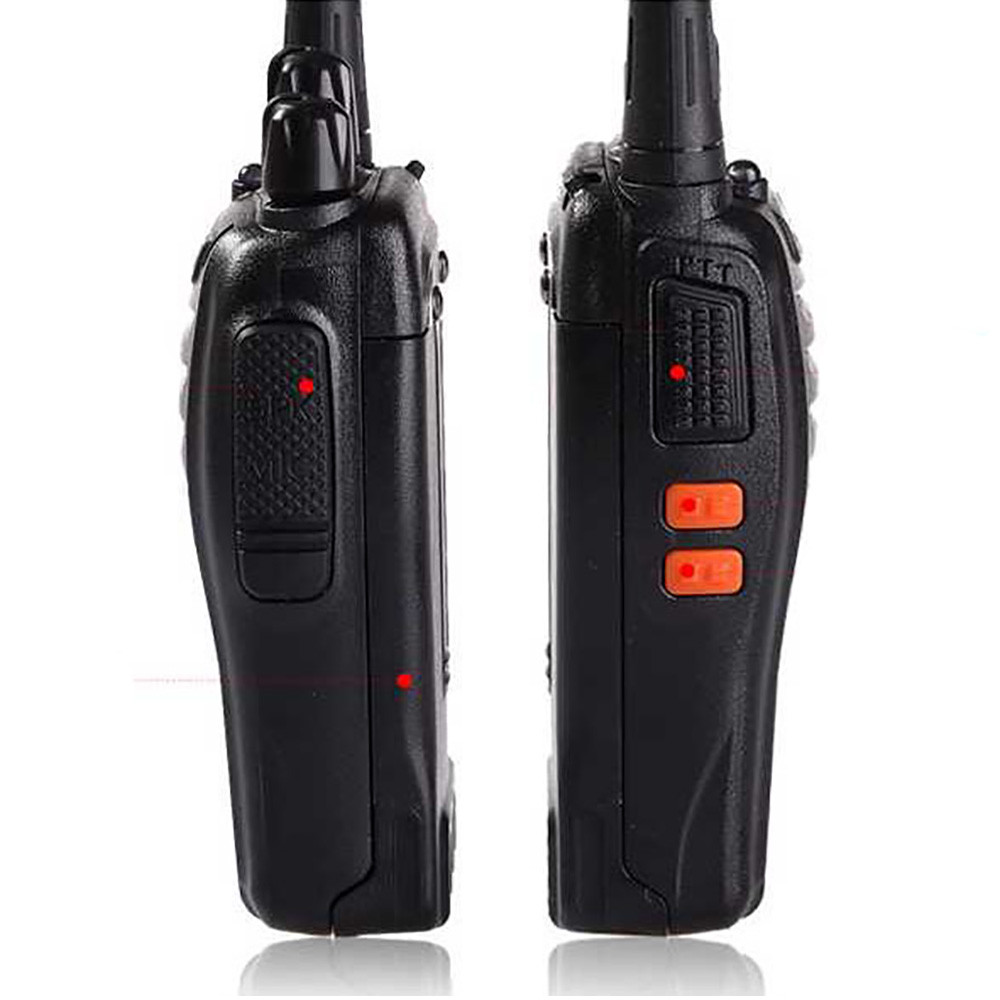 Image 2 - BF 888S 2 Baofeng Mini Walkie Talkie Wireless Civilian Waterproof Portable Self driving Tour Hotel Tourie Security Walkie talkie-in Walkie Talkie from Cellphones & Telecommunications