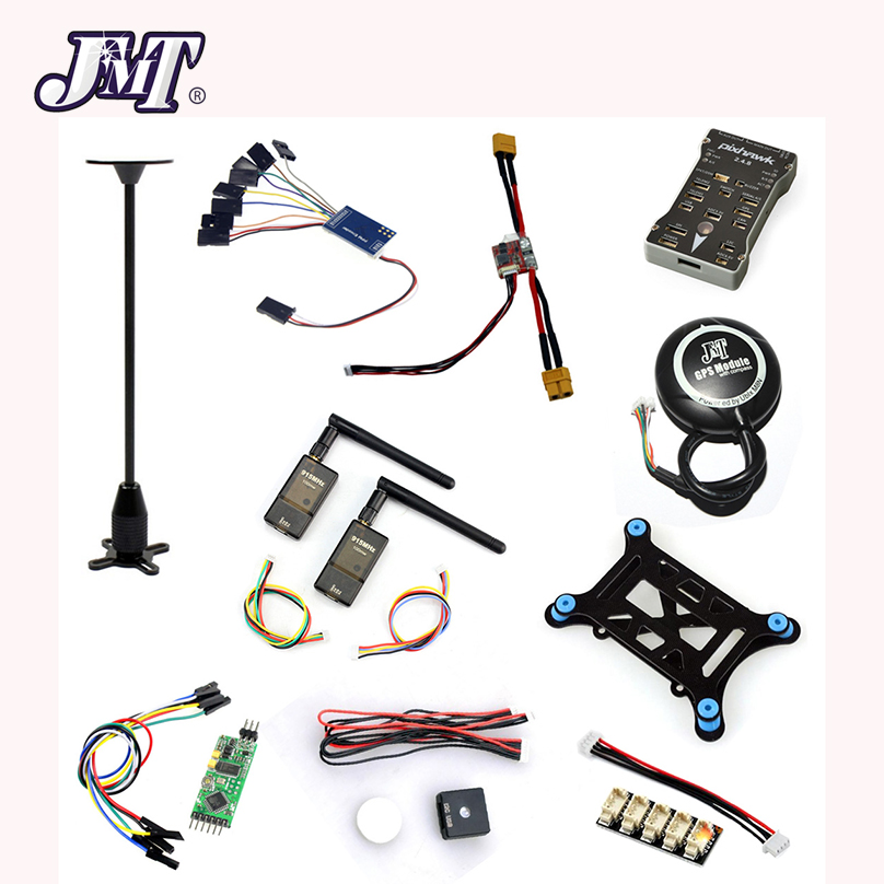 10 in 1 PX4 PIX 2.4.8 32 Bit Flight Controller+ I2C + Shock +OSD+PPM+M8N GPS+915MHZ Telemetry Kit +LED Module micro px4 2 4 6 flight controller m8n gps ppm encode osd 433mhz radio telemetry 100mw combo