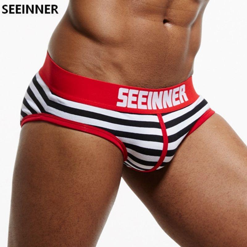 SEEINNER-Brand-Men-Underwear-briefs-Cotton-Striped-Sexy-men-briefs-slips-cueca-masculina-Male-panties-calcinha
