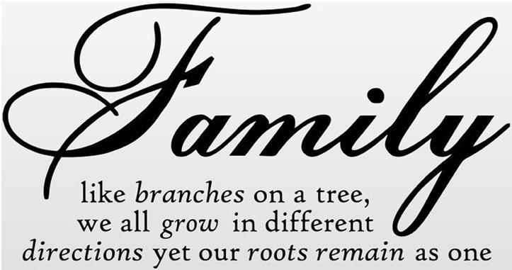 Like Branches On A Tree Quote: Wholesaler Family Like Branches On A Tree Vinyl Lettering