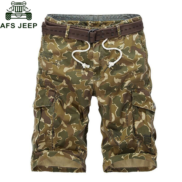 Aliexpress.com : Buy AFS JEEP Camouflage Cargo Shorts Men Summer ...