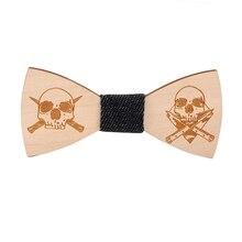 Лидер продаж 10 видов модный деревянный для взрослых галстук-бабочка цветочный Камуфляжный узор вечерние деревянный лук галстук костюм декоративный галстук-бабочка повязки
