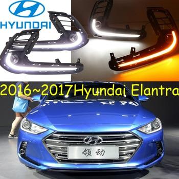2017 2018year,Elantra daytime light, Free ship!LED,Elantra fog light,Elantra head light