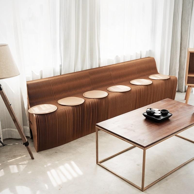 Dossier déformable canapé design créatif meubles moderne salon Provincial  espace respectueux de l\'environnement meubles