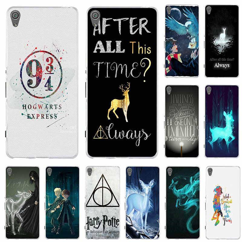85337f8ec39fdd Harry Potter Quotes Always Leggings Phone Case For Sony Xperia XA Z1 Z3 Z5  Compact Z2