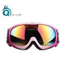 NEW XQ-HD Windproof Ski Goggles Double Lens Anti-fog Anti-UV Outdoor Sports Snowboard Eyewear Multicolor XA-031