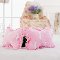 2 Pcs Soft Pink Clouds Neck Pillow Plush Toys For Kids Gifts New Cute Cartoon Dog