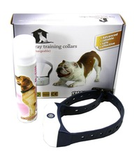 Free shipping NEW reachargble Bark deterrents electric pet fence remote training collar
