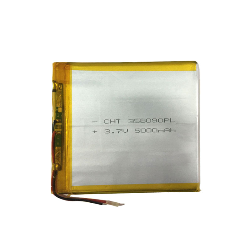 Lithium Polymer Battery 3x80x90mm 3.7v 5000mah Tablet Battery 2 Wire