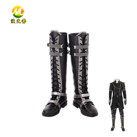 Final Fantasy XV Kingsglaive Cosplay Boots Halloween Shoes Party Carnival Accessories For Unisex Adult High Quality