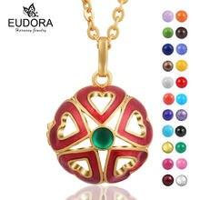 Специальный прекрасный золотой цвет сердце ароматерапия медальон