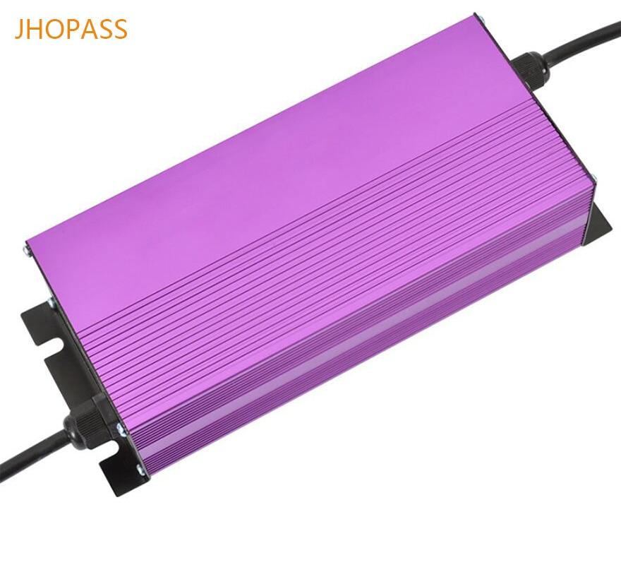 LED affichage 72V 8A lithium chargeur de batterie intput 220V sortie 84V 8A 20S pour voiture/monocycle/e-bike superpower chargeur