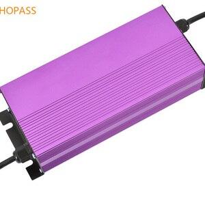LED display 72V 8A lithium bat