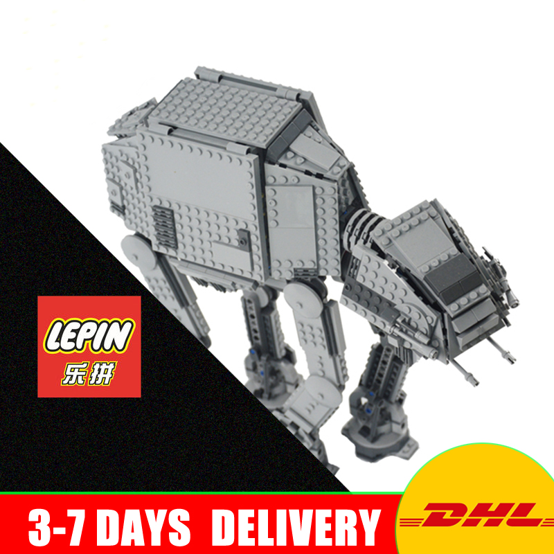 LEPIN 05051 UCS Series Force Awaken The AT-AT Transpotation Armored Robot Model Building Kit Blocks Toy Clone 75054 каталог ucs