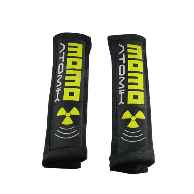 Momo atomik set-funda de cinturón de seguridad/CUSCINETTI POR CINTURE/ARNÉS PADS/FOURREAUX DE HARNAIS/GURTPOLSTER/ALMOHADILLAS