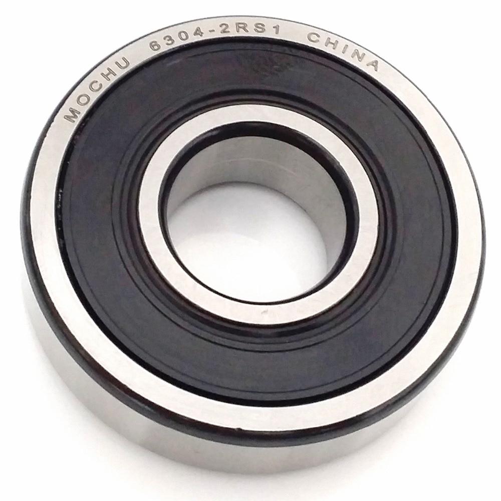 1pcs Bearing 6304 6304RS 6304-2RS1 6304-2RS 20x52x15 MOCHU Shielded Deep Groove Ball Bearings Single Row High Quality