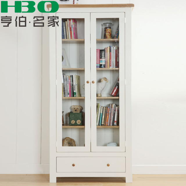 humber eiken meubels massief houten boekenkast boekenkast kluisjes studie meubels minimalistische hoge boekenkast vertoning