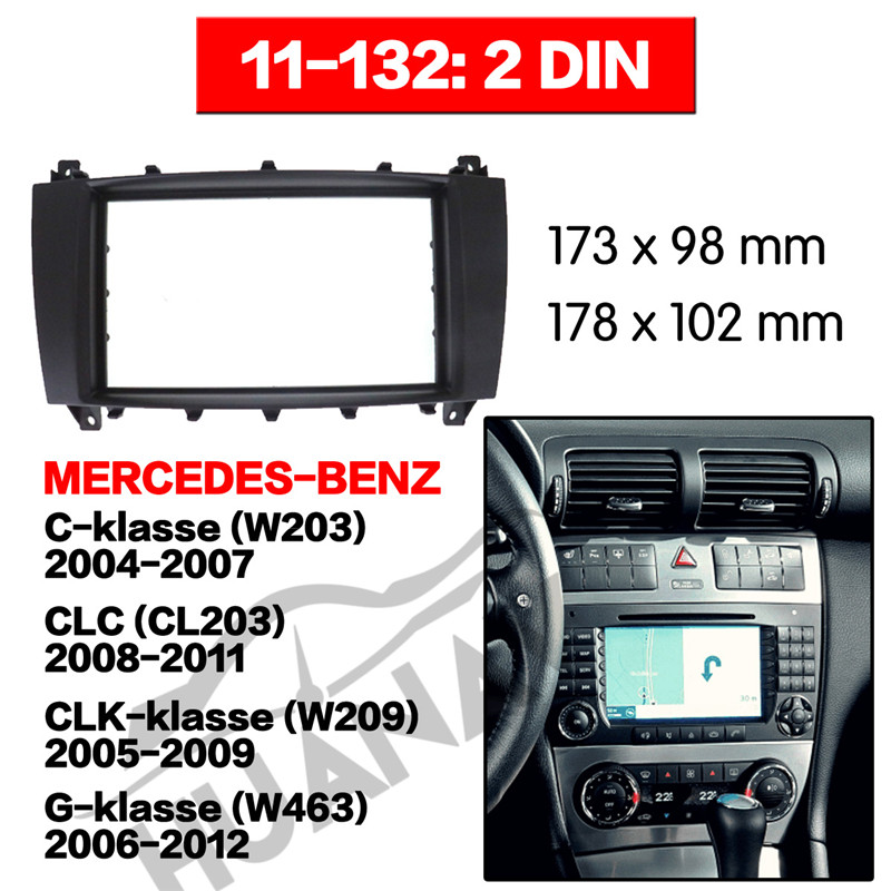 All Kinds Of Cheap Motor W203 Radio Frame In All B