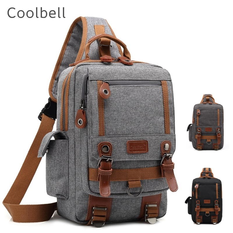 """2020 New Coolbell Brand Bag Crossbody For Tablet 10.1"""" Case For Ipad 9.7"""" Chest Pack Bosom Office Worker Free Drop Shipping 3011