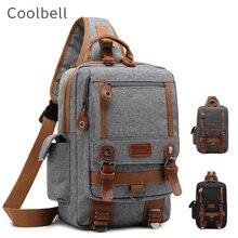 """2020 nuova borsa di marca Cool Bell, tracolla per Tablet 10.1 """"custodia per Ipad 9.7"""" petto pacco seno lavoratore, trasporto di goccia 3011"""