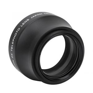 Image 5 - New 2X Magnification High Definition Converter Telephoto Lens for 37mm Mount Camera Converter