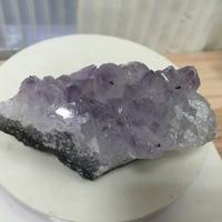224g AAA Purply Kuvars Kristalleri Geode Numune Ametist feng shui Ürün SıCAK SATıŞ!