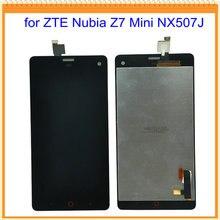 for ZTE Nubia Z7 Mini NX507J LCD Display with Touch Screen for ZTE Nubia Z7 Mini NX507J Free Shipping