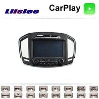 For Opel For Vauxhall For Holden Insignia LiisLee Car Multimedia TV DVD GPS Radio Carplay Original Style Navigation Navi