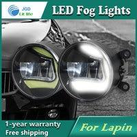 Super White LED Daytime Running Lights For Suzuki Lapin Drl Light Bar Parking Car Fog Lights 12V DC Head Lamp