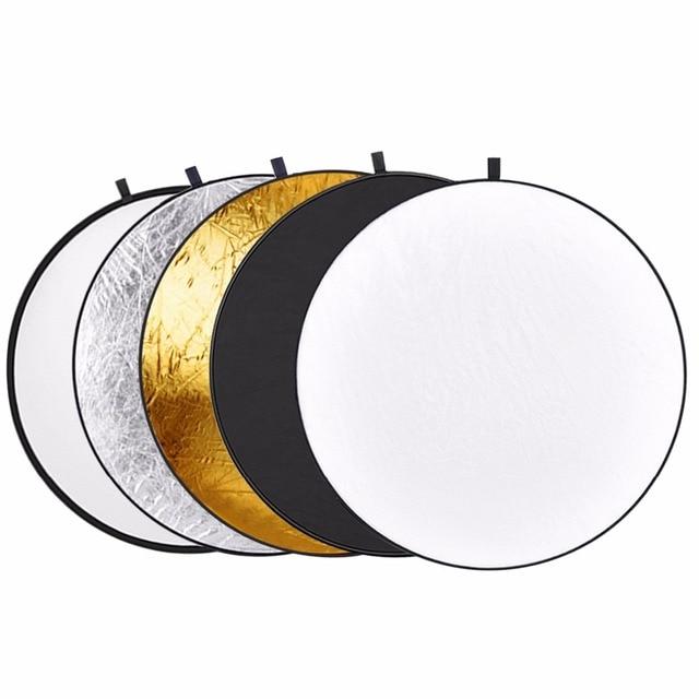 neewer 43 inch/110 cm 5 em 1 dobrável multi disco luz do refletor