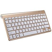2.4 Г Ультра Тонкий Для Apple Стиль Клавиатуры Беспроводная Клавиатура Ножницы Ноги клавиатура для Mac Ос Windows XP 8 7 10 Vista TV Box