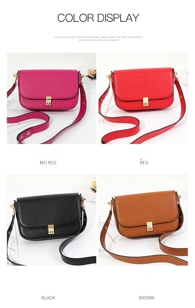 lkprbd 2018 high-end custom design of the new big 100% leather bag with a Bean Bag Fashion Leather Shoulder Messenger Bag Small qiaobao 2018 new korean version of the first layer of women s leather packet messenger bag female shoulder diagonal cross bag