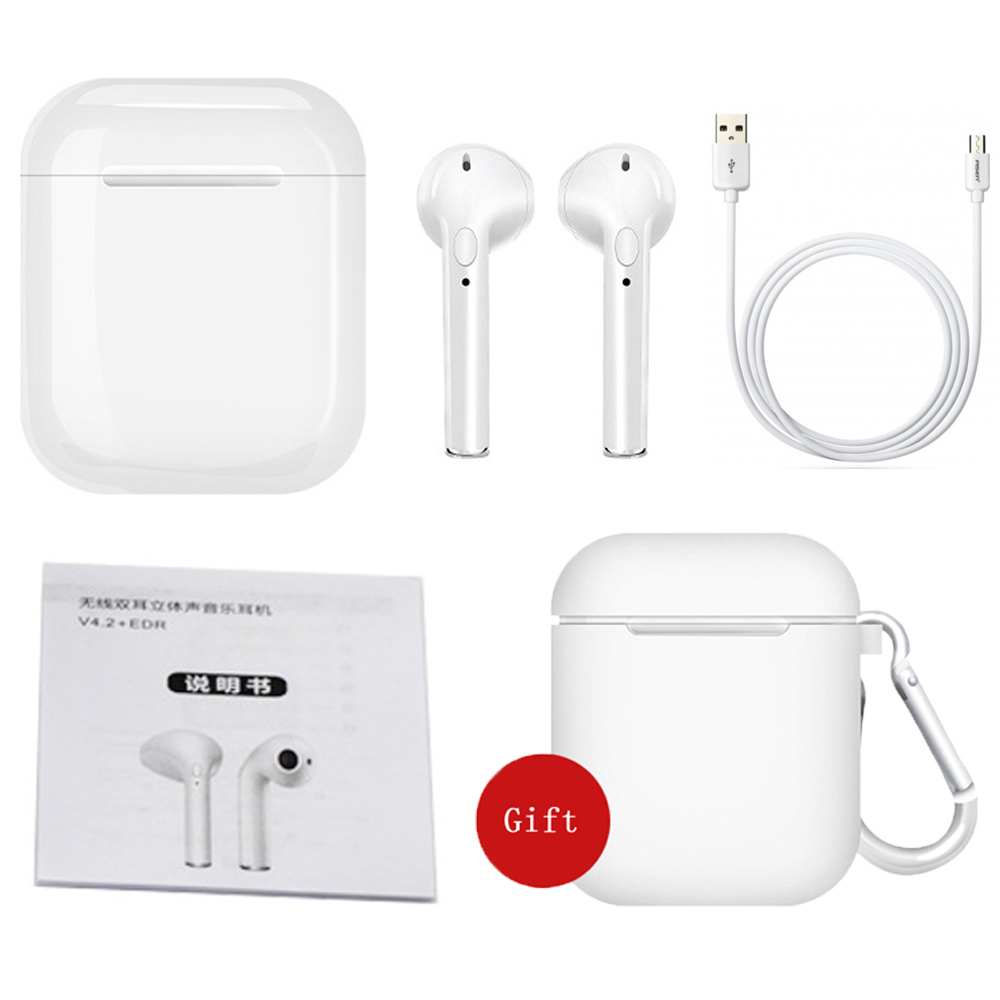 IFANS Mini i9s gemelos auriculares Mini auriculares inalámbricos Bluetooth i7s TWS auriculares de aire Pods auriculares estéreo para IPhone Android PC