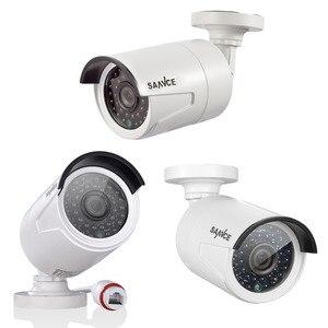 Image 5 - SANNCE 4CH NVR CCTV ビデオ監視キット 4 個 2.0 MP 防水 IP カメラホームセキュリティ CCTV カメラシステム 1080 1080P POE