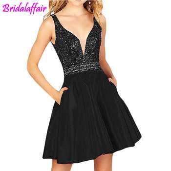 Halter Prom special occasion Dresses Beading Elegant Homecoming Dresses Short vestido de formatura Graduation Dresses For Women