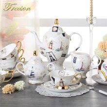 Logbook кофейный набор из костяного фарфора Европейский фарфоровый