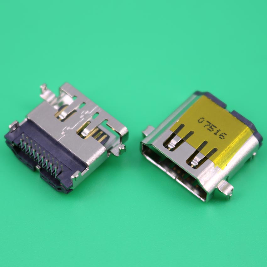 YuXi 1pcs/lot HDMI Female Socket 19pin HDMI Jack For Laptop Acer Hp Lenovo Etc HDMI Connector