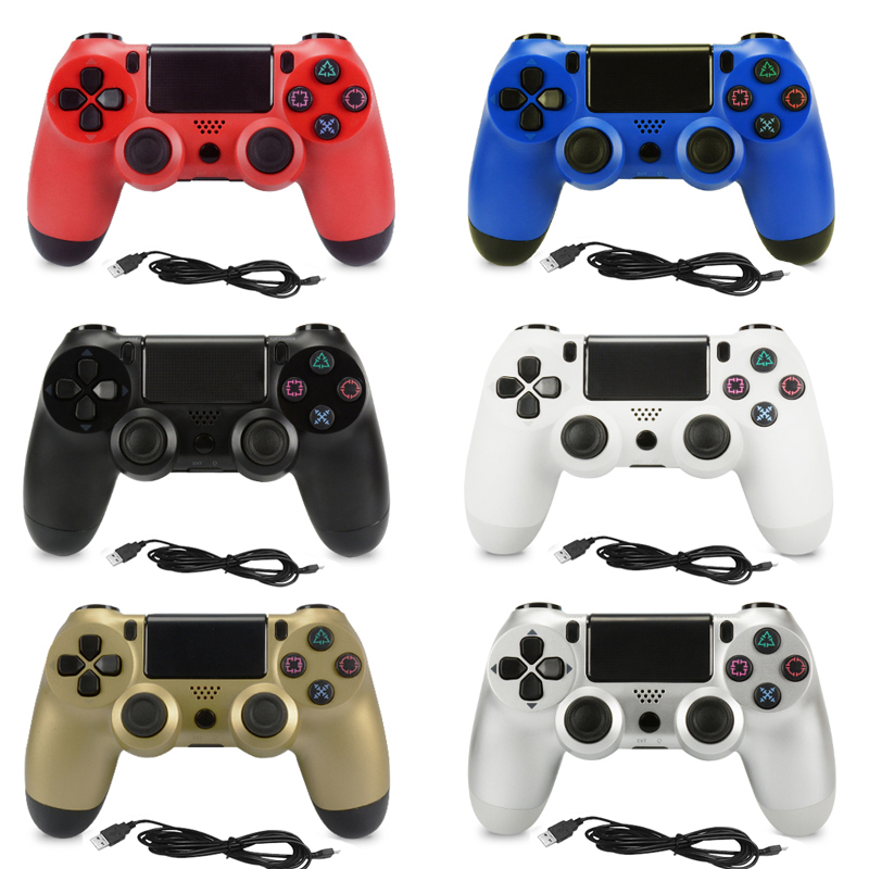Wired Game controller for Sony Playstation 4 PS4 Controller Dual Shock Vibration Joystick Gamepad for PlayStation 4