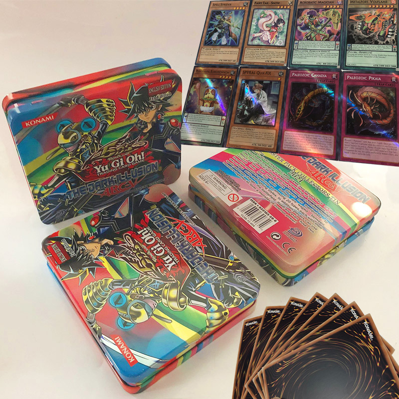 Hot 71PCS Japan Yu Gi Oh Game Playing Cards With Box Carton Yugioh Game Cards Japan Boy Girls Yu-Gi-Oh Cards Collection Gift Toy