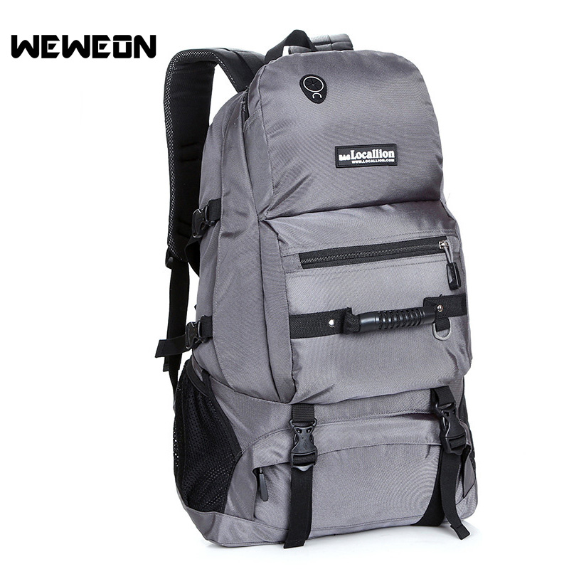 Large Outdoor Camping Hiking Backpack Cycling Bag Backpack Mountaineering Rucksack Women Sports Bag for Gym Travel Backpack Bag 75l external frame support outdoor backpack mountaineering bag backpack men and women travel backpack a4809