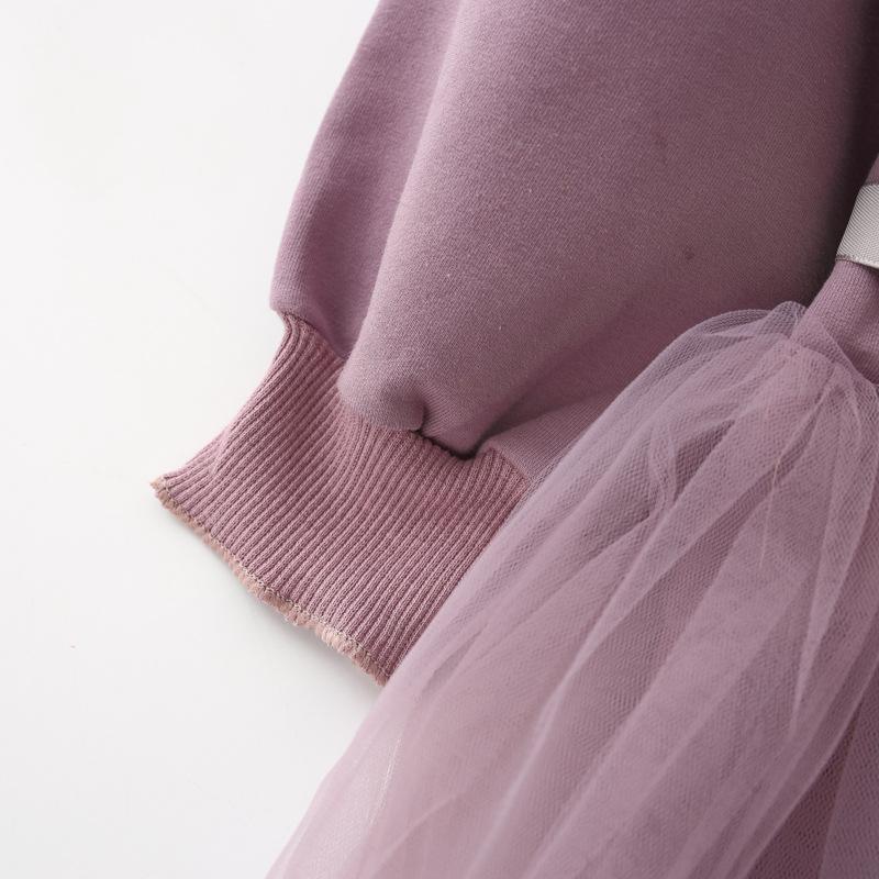 HTB1d57DfnfN8KJjSZFjq6xGvpXaG - Fashion stitching Baby Girl Dress Long sleeve spring Dresses for 0-24 month Girls Clothes Vestido Infantil Newborn Baby Clothing
