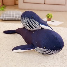 Plush Toy Sea Animal, Blue Whale Soft Toy Stuffed Animal, Children's birthday gift