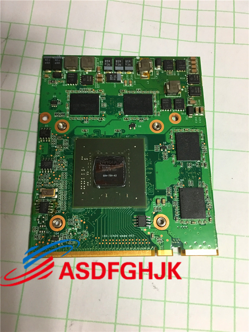 For Acer Aspire 8920 8920G 8930 8930G Laptop NVidia GeForce 9650M GT MXM II DDR2 512MB Video Graphics Card G84-750-A2 Cards