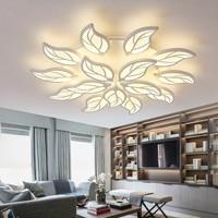 Controle remoto escurecimento conduziu a lâmpada luzes de teto para sala de estar quarto deckenleuchten modern led luzes de teto luminária|Luzes de teto| |  -