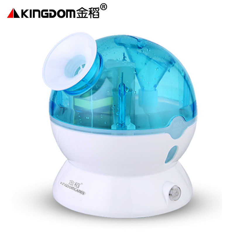 Portable Nano Cold Spray Face Humidifier Steamed Face Device Facial Mist Sprayer Beauty Instrument Whitening Face Cleasing Blue portable mist sprayer face cleaning nano sprayer handy mist facial nebulizer steamer moisturizing hydrating nano ion new