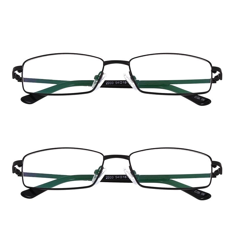 2x Klare Linse Rahmen Gläser Mens Womens Fashion Brillen Home Office ...